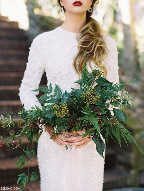 شیک ترین مدل های لباس عروس 2017