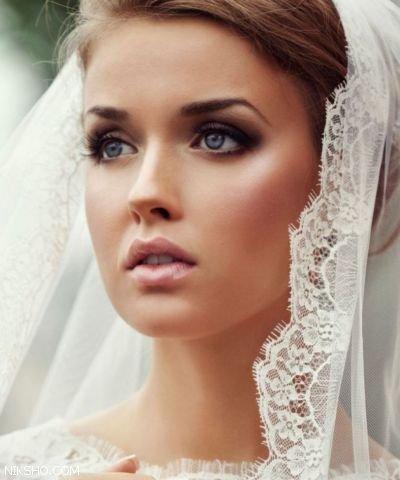 مدل آرایش عروس +مدل موی عروس 2017