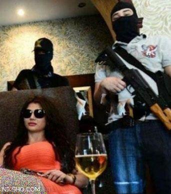 زنی که کیم کارداشیان خلافکارها لقب گرفته است +عکس