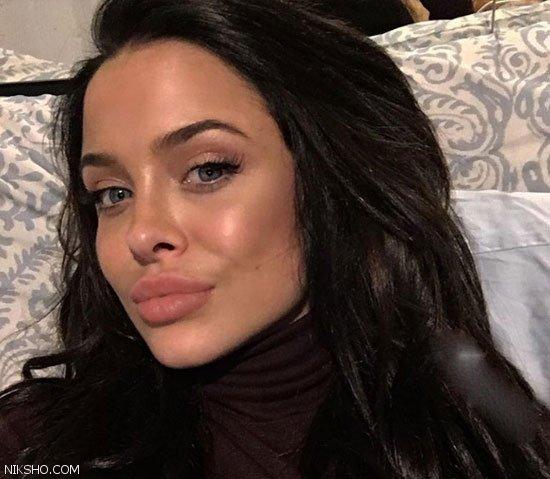 این دختر بسیار زیبا به بدل آنجلینا جولی معروف شد