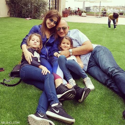 عکس های جدید نانسی عجرم در کنار همسر و دخترانش