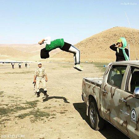 بیوگرافی مهسا احمدی دختر بدلکار افسانه ای ایرانی