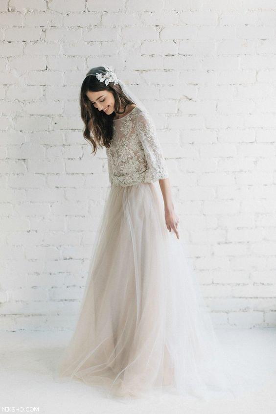 شیک ترین مدل های لباس عروس 2019