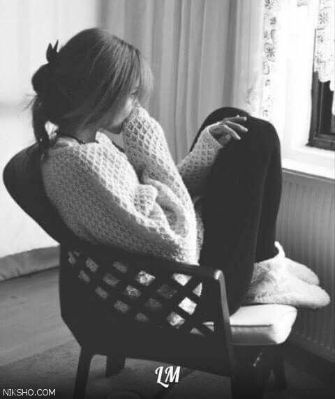 عکس فانتزی دختر غمگین برای پروفایل