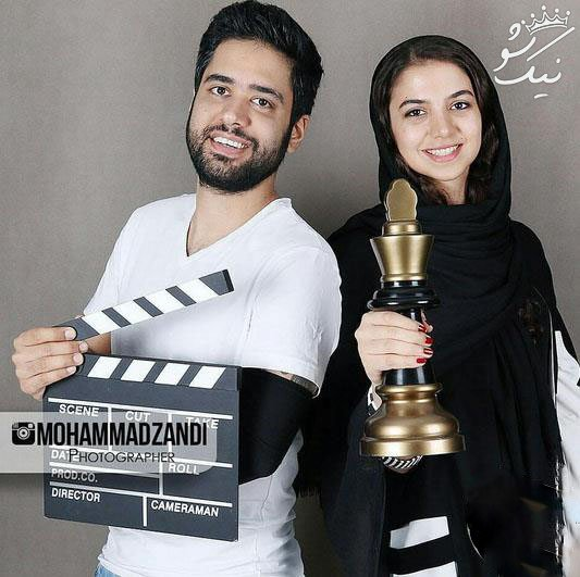 سارا خام الشریعه با اردشیر احمدی ازدواج کرد +عکس