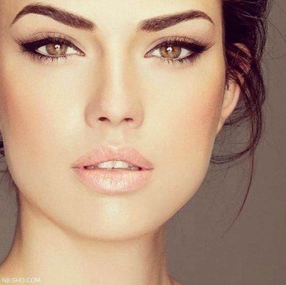 شیک ترین مدل های آرایش ملایم مناسب برای بیرون رفتن