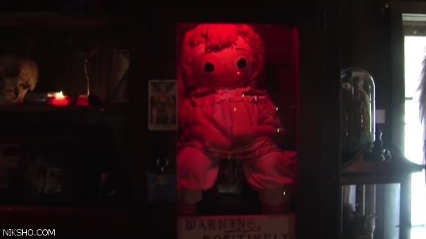 چرا عروسک آنابل نماد ترس و جن زدگی است؟