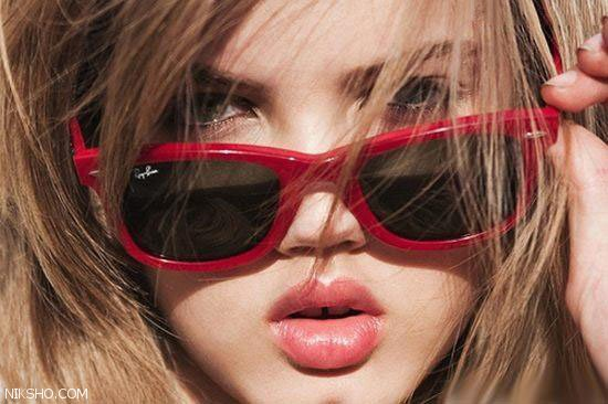 این دختر جوان زیباترین لب های جهان را دارد +عکس