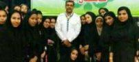 دانش آموزان دختر نخبه هرمزگانی قبل از اعزام به اردو