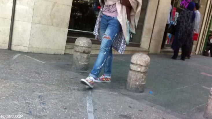لباس و شلوار پاره و تکه تکه شده با قیمت نجومی در تهران