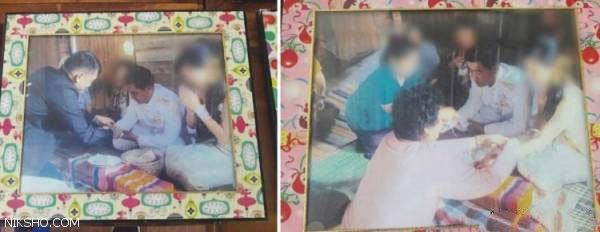 مرد تایلندی که با 120 دختر جوان باکره ازدواج کرد +عکس