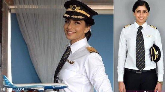جوان ترین و جذاب ترین خلبان زن هواپیمای بوئینگ