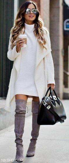 انواع ست های پاییزی لباس زنانه شیک و جوان پسند