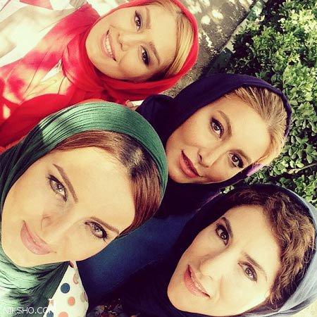 فریبا نادری بازیگر ایرانی از همسر دومش باردار شد +عکس