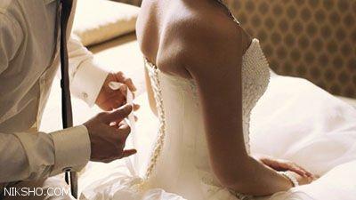 همخوابی های تازه عروس در خانه با دوست داماد