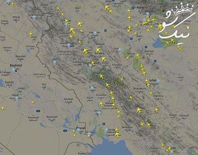 میزان درآمد ایران از مرزهای هوایی چقدر است؟