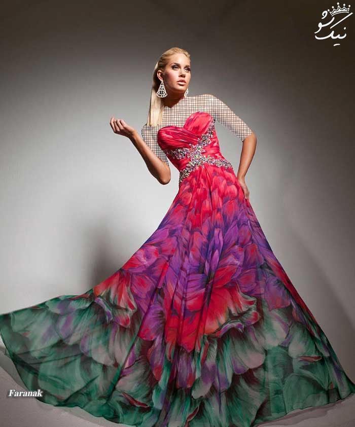 جدیدترین مدل های لباس نامزدی شیک 2017