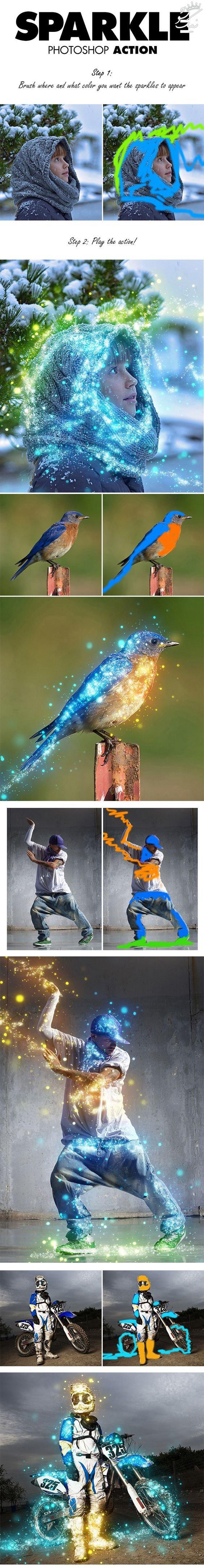بهترین اکشن های فتوشاپ برای طراحی گرافیگ photoshop actions