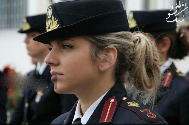 دختران زیبای ارتشی +لشکر جذابیت پری رویان