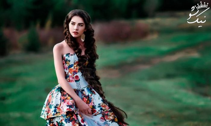 مرگ مدل جذاب و خوش اندام روس وسط فشن شو +عکس