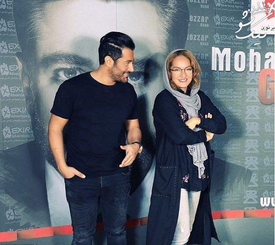 استایل های جالب مهناز افشار و محمدرضا گلزار در کنار هم