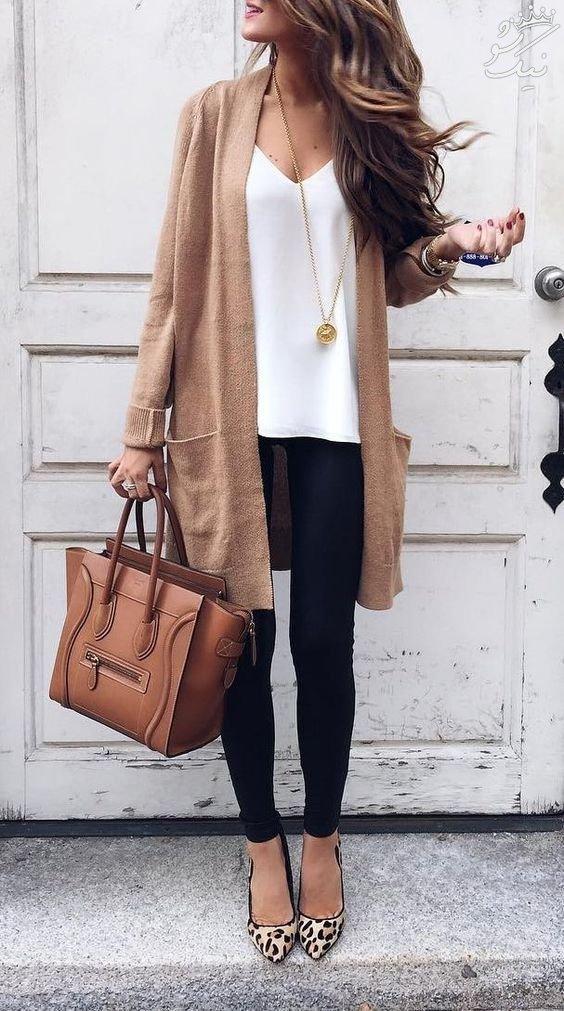 مدل و استایل زنانه به سبک پاییز 2017 +مدل لباس اسپرت شیک