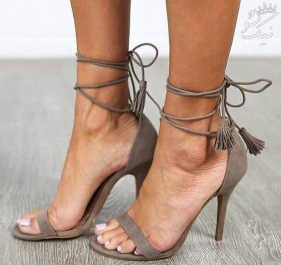 جذاب تری مدل های صندل و کفش پاشنه بلند زنانه اینجاست