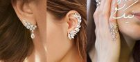 شیک ترین مدل جدید گوشواره طلا Ear pin برای خوش سلیقه ها