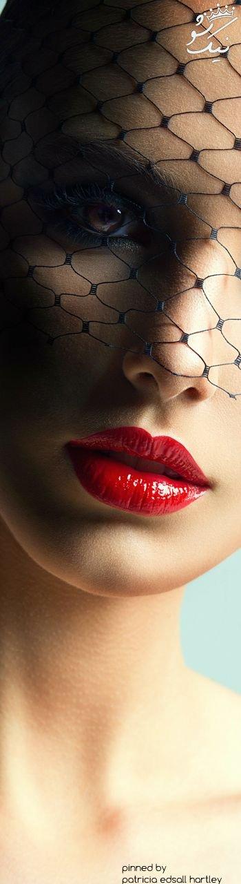 مدل آرایش لب داغ +رنگ رژ لب جذاب و شیک و لاکچری