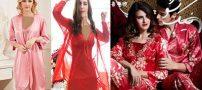 داغ ترین مدل های لباس خواب عروس شیک و لاکچری
