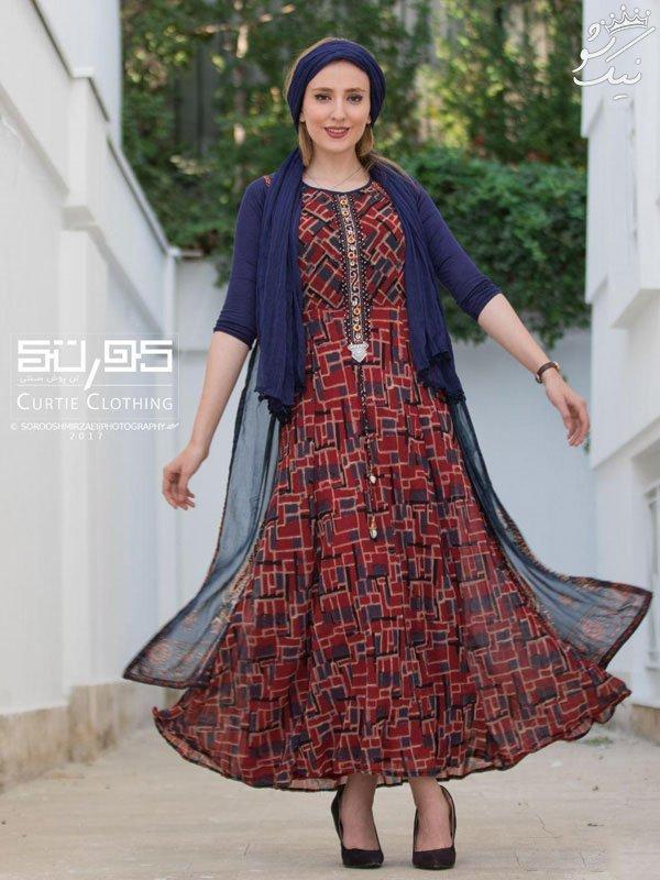 مدل مانتو برای استایل پاییزی خانم ها از برند کورتی