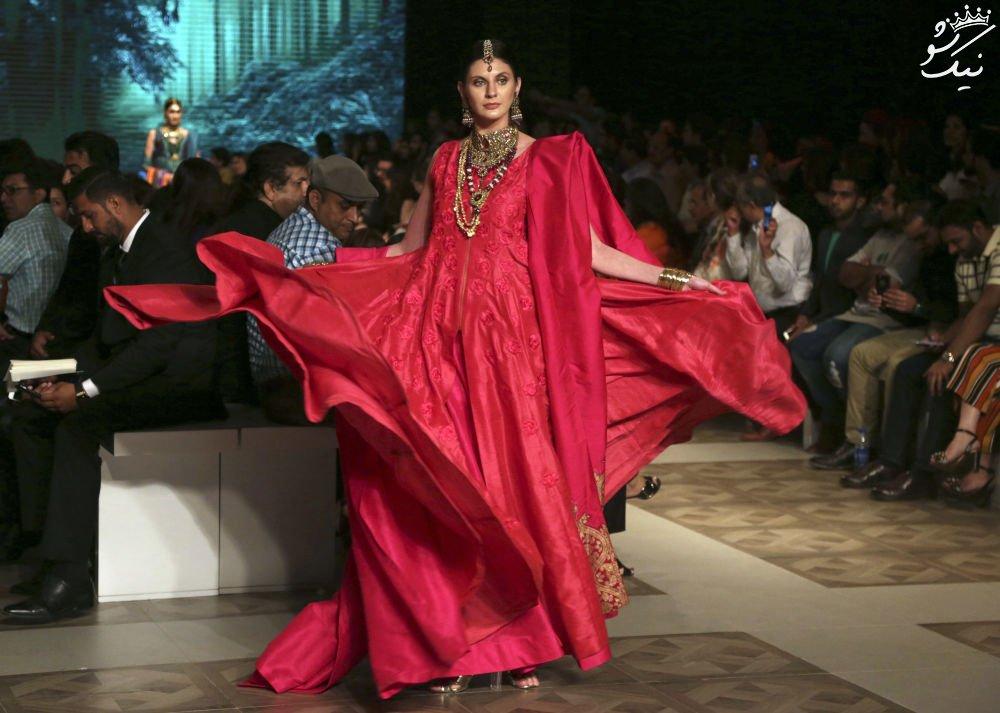 هفته مد لباس عروس و دختران پاکستانی به روایت تصویر