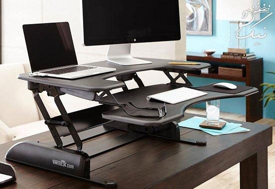 استفاده از میز کار ایستاده معجزه سلامتی برای شما