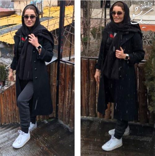 جذاب ترین عکسهای تینا آخوندتبار بازیگر و بوکسور در اینستاگرام