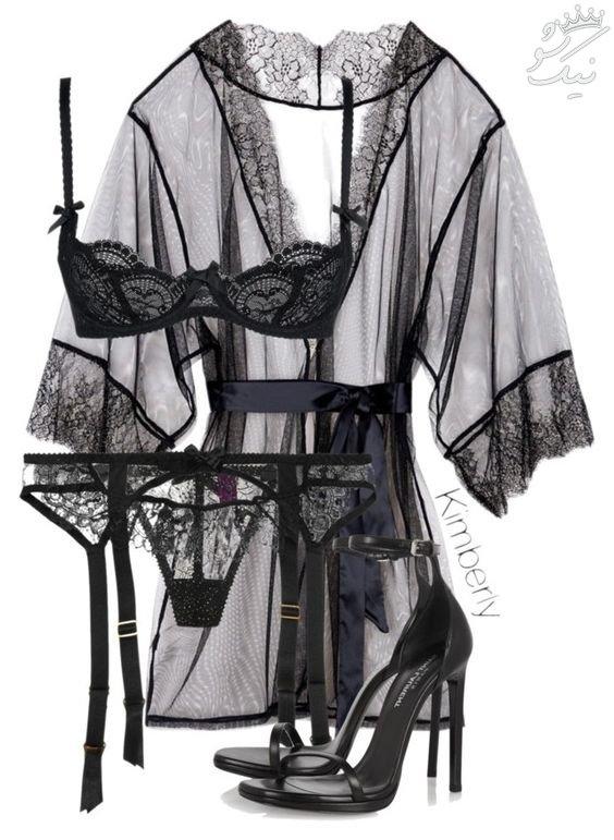 لباس زیر زنانه تحریک کننده +لباس زیر عروس شب زفاف داغ