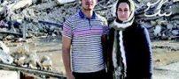 فرانک زن بارداری که پس از ۱۶ ساعت از زلزله زیر آوار زنده ماند