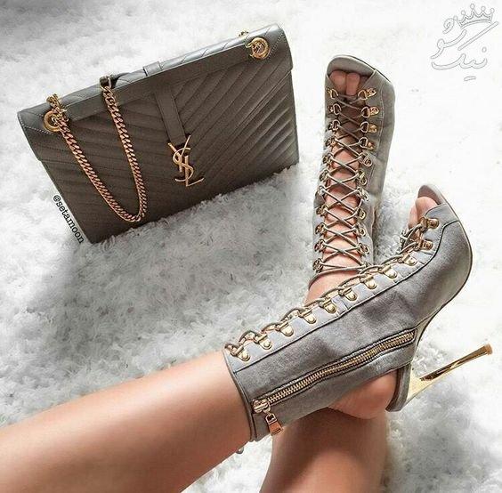 مدل های کفش پاشنه بلند زنانه واقعا جذاب