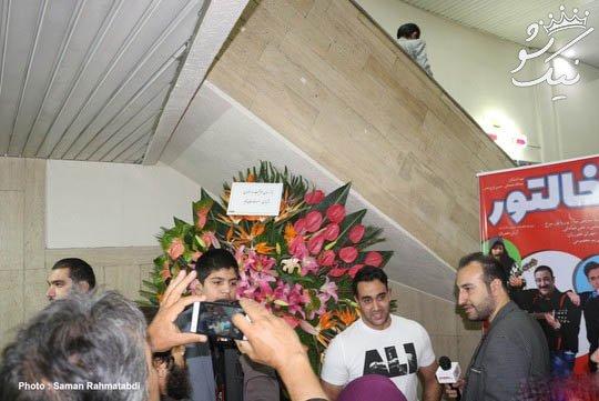مدل مو و تیپ خفن سحر قریشی در اکران خالتور