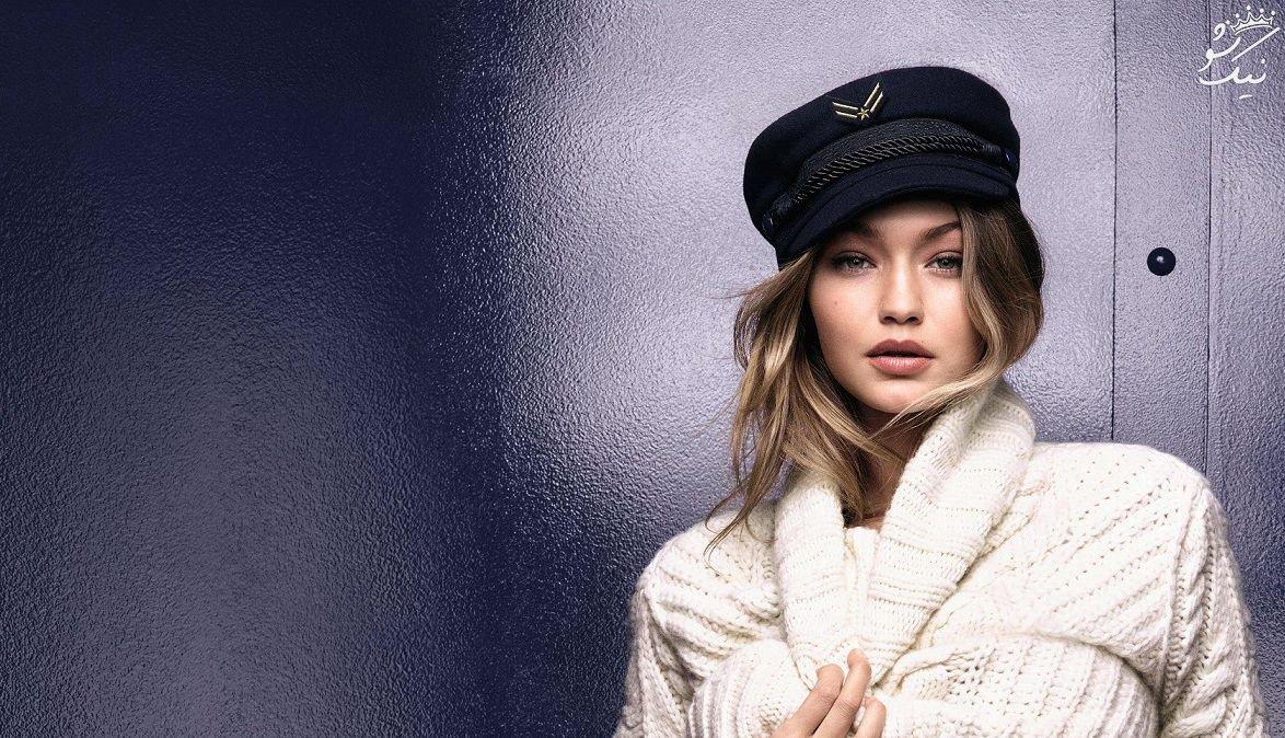 جی جی حدید دختر مدلینگ مشهور و برند لوازم آرایشی اش