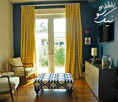 بهترین روش انتخاب رنگ پرده برای دکوراسیون شیک منزل شما