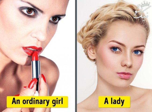 یک زن جذاب هیچ گاه این اشتباهات را انجام نمی دهد