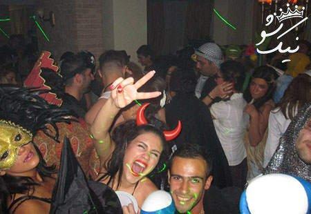 دختران و پسران در پارتی های شب یلدای تهران