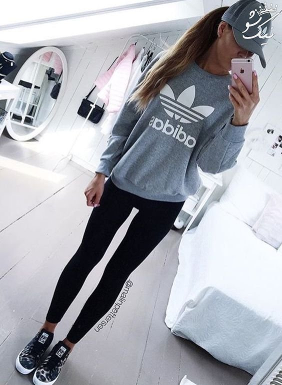 استایل اسپرت دخترانه جذاب از برند adidas