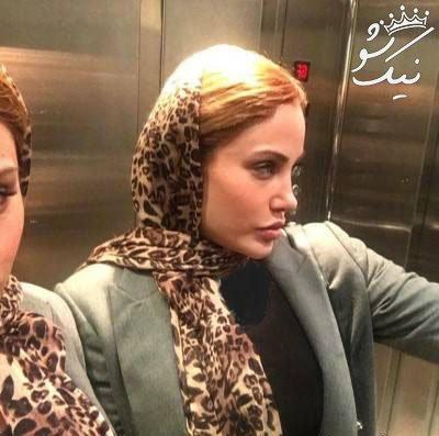 رامانا دختر ایرانی خوشگل که بدل آنجلینا جولی است