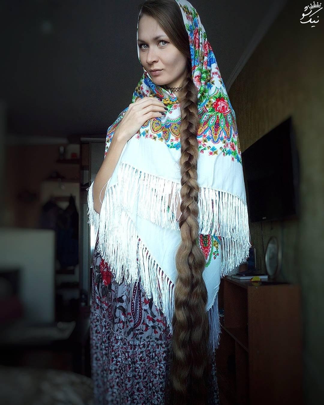 داریا گوبانوا موبلندترین دختر جذاب جهان +عکس