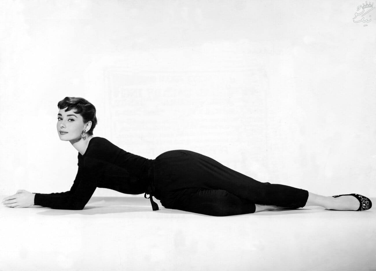 آدری هپبورن Audrey Hepburn زیباترین ستاره تمام دوران هالیوود