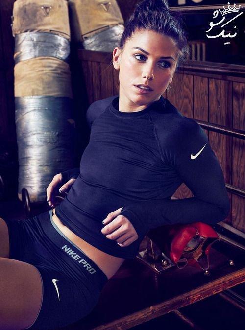 الکس مورگان Alex Morgan زیباترین زن فوتبالیست جهان