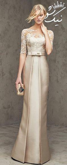 مدل های لباس مجلسی بلند واقعا شیک و جذاب 2019