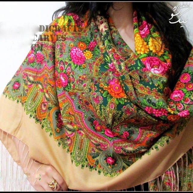 مدل های روسری ترکمنی شیک و بسیار زیبا