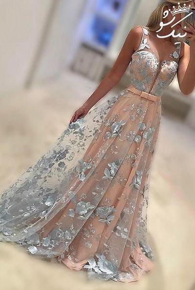 مدل های لباس مجلسی بلند واقعا شیک و جذاب 2018